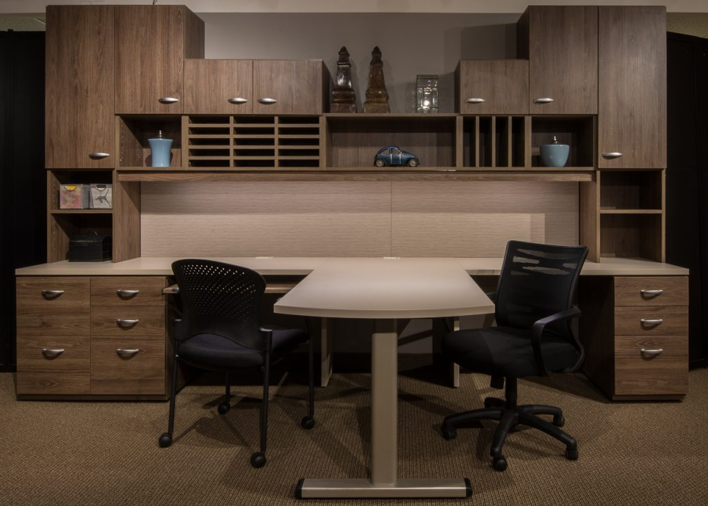 We Measure, Design And Install Our Office Furniture For Custom Fit  Solutions Throughout The Sacramento Region.
